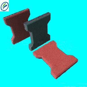 Factory Price Rubber Dog Bone Tile, Dog Paver
