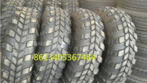 Flat Tyre for Btr 82, Btr70, Btr80 13.00-18, Cross-Country Tyre for Military Trucks pictures & photos