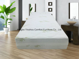 2017 Comfort Memory Foam Mattress with Zippered Bamboo Cover pictures & photos