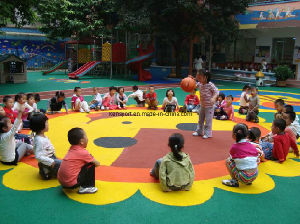 Environmentally Friendly, Non-Toxic for Kids School- EPDM Rubber Granule pictures & photos