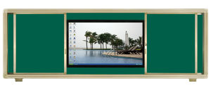 Sliding Green Board for Teaching pictures & photos