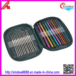 Aluminum and Iron Crochet Hook Set Knitting Needle (XDACH-004) pictures & photos