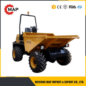 Cheap 3ton 4X4 Hydraulic Tipping Dumper Fcy30 pictures & photos