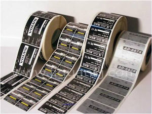 Pirnted Paper Adhesive Sticker PVC Self-Adhesive Label (Z16) pictures & photos