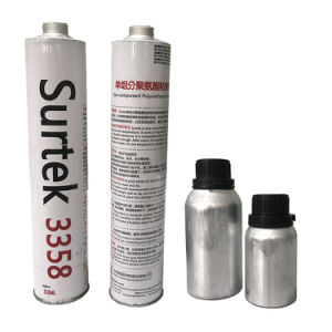Solvent Free Fast Cure PU (Polyurethane) Windscreen Replacement Adhesive (Surtek 3358) pictures & photos