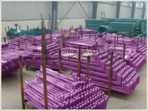Galvanized Swivel Square Tube Type Scaffold Guard Rails for Construction pictures & photos