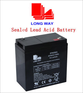 6V36ah Valve Regulated Lead Acid Battery pictures & photos