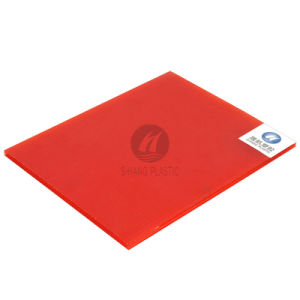 Polycarbonate Sheet Popular in South America, Red, PC Board pictures & photos