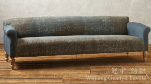 Polyester Leather Faux Suede Compound Fabric for Sofa pictures & photos