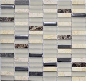 Various Color Glass and Stone Mosaic pictures & photos
