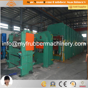 China Rubber Sheet Curing Press Machine pictures & photos