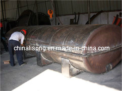Rotational Mould for Making Horizontal Tank