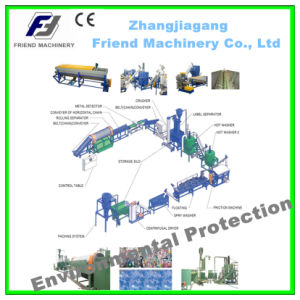 Pet Bottle Flakes Washing Cleaning and Recycling Line pictures & photos