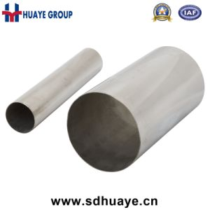 Huaye 201 304 Prime Stainless Steel Tubes with Aod Material pictures & photos