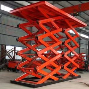 Scissor Type and Ce, ISO Certification Scissor Lift Car Lifting pictures & photos