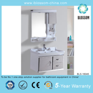 Big Bathroom Vanity with Certificate Bathroom Cabinet (BLS-16045) pictures & photos