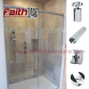Brass Shower Sliding Door System (SSD. 204. BR) pictures & photos