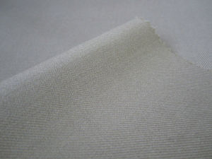 Wool Polyester Blended Serge / Top Quality Suit Fabric