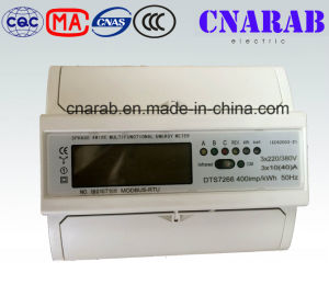 Three-Phase Four-Wire Multifunction Electronic DIN-Rail Energy Meter pictures & photos