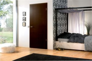Interior Beautiful Laminated MDF Flush Door pictures & photos