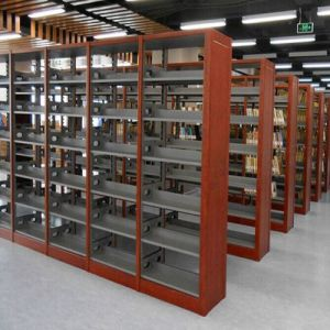 Adjustable Book Shelves Heavy Duty Metal Library Bookshelf pictures & photos