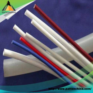 1.2kv Silicone Coated Braided Fiberglass Sleeving pictures & photos