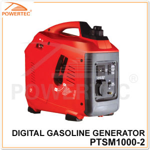 Powertec 4-Stroke 1400W Digital Gasoline Generator (PTSM1000-2) pictures & photos