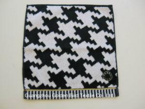 100% Cotton Yarn Dyed Jacquard Hankerchief