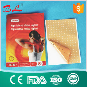 Hot Capsicum Plaster Chilli Chinese Balm Patches Size 12 X 18cm Pain Relief Patch pictures & photos