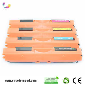 Original Ce310A/Ce311A/Ce312A/Ce313A Color Toner Cartridge for HP Laserjet pictures & photos