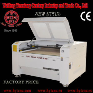 Factory Promotion! Bjg-1610t Double Laser Head Laser Cutting Machine for Balsa Wood pictures & photos
