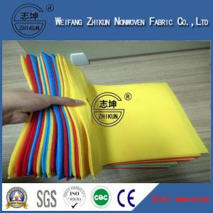 Recycled Dyed Colorful Polypropylenen Spun-Bond Non Woven Fabric for Handbags pictures & photos