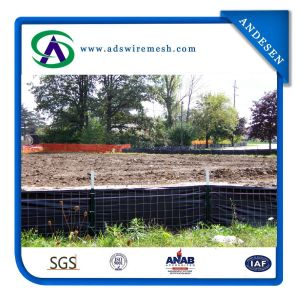 14.5gauge Wire Backed Silt Fence pictures & photos