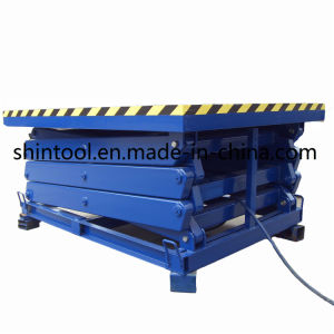 2 Ton Stationary Lift Platform with Max Lifting Height 12900mm (Customizable) pictures & photos