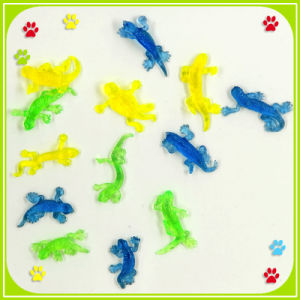 Promotion Mini Sticky Lizard Capsule Plastic Toys