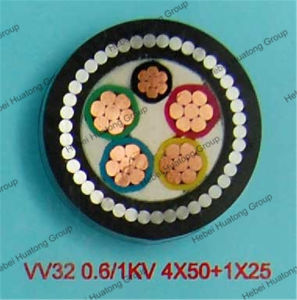 4 Core Cu/XLPE/Swa/PVC Underground Armoured Power Cable Size pictures & photos