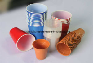 Plastic Cup Mouth Curling Machine pictures & photos