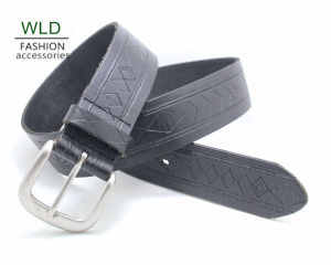 Fashion Basic Genuine Top Leather Men′s Belt Lky1170 pictures & photos