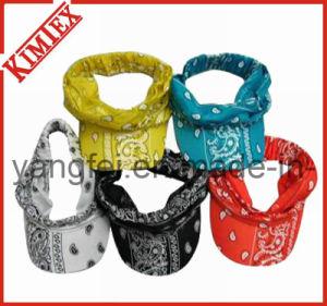 100% Cotton Printed Fashion Peak Visor bandana pictures & photos