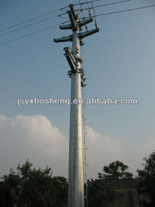 Round Electricity Transmission Steel Pole pictures & photos
