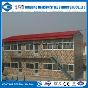 China Low Cost Flat Packed Cabin Log Plan Chinese Steel Container House Factory pictures & photos