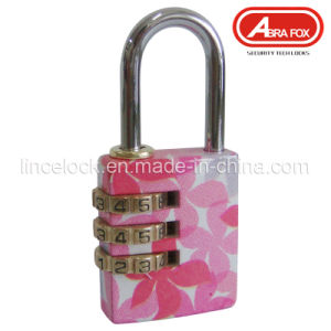 Colour Heat Plated Design Combination Brass Padlock (803) pictures & photos