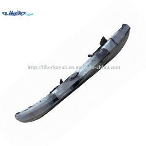 China double fishing kayak sit on top kayak with four for Double fishing kayak
