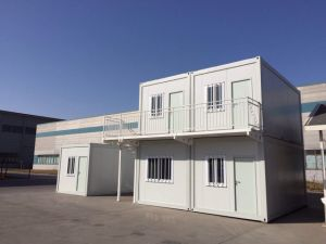 Structural Steel Fabrication Container Housing pictures & photos