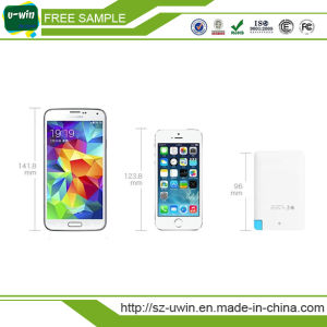 Free Sample&Logo Built-in Cable Credit Card Power Bank pictures & photos