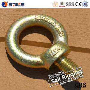 Carbon Steel Yellow Zinc Plated Eye Bolt pictures & photos