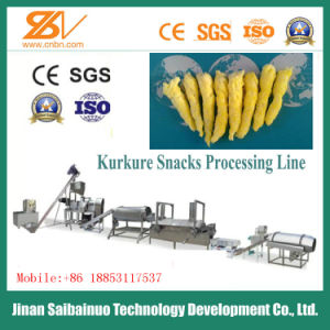 Ce Standard Full Automatic Corn Snacks Kurkure Extrusion Machine pictures & photos