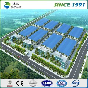 Double Story Sandwich Panel Roofing Steel Structure Warehouse pictures & photos