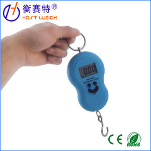 40kg 10g Mini Digital Hanging Portable LCD Luggage Scale pictures & photos
