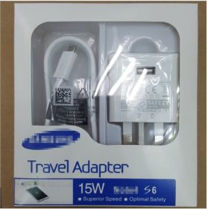 New UK 3pin Fast Charging Mobile USB Charger for Samsung S6/S7/S8 pictures & photos